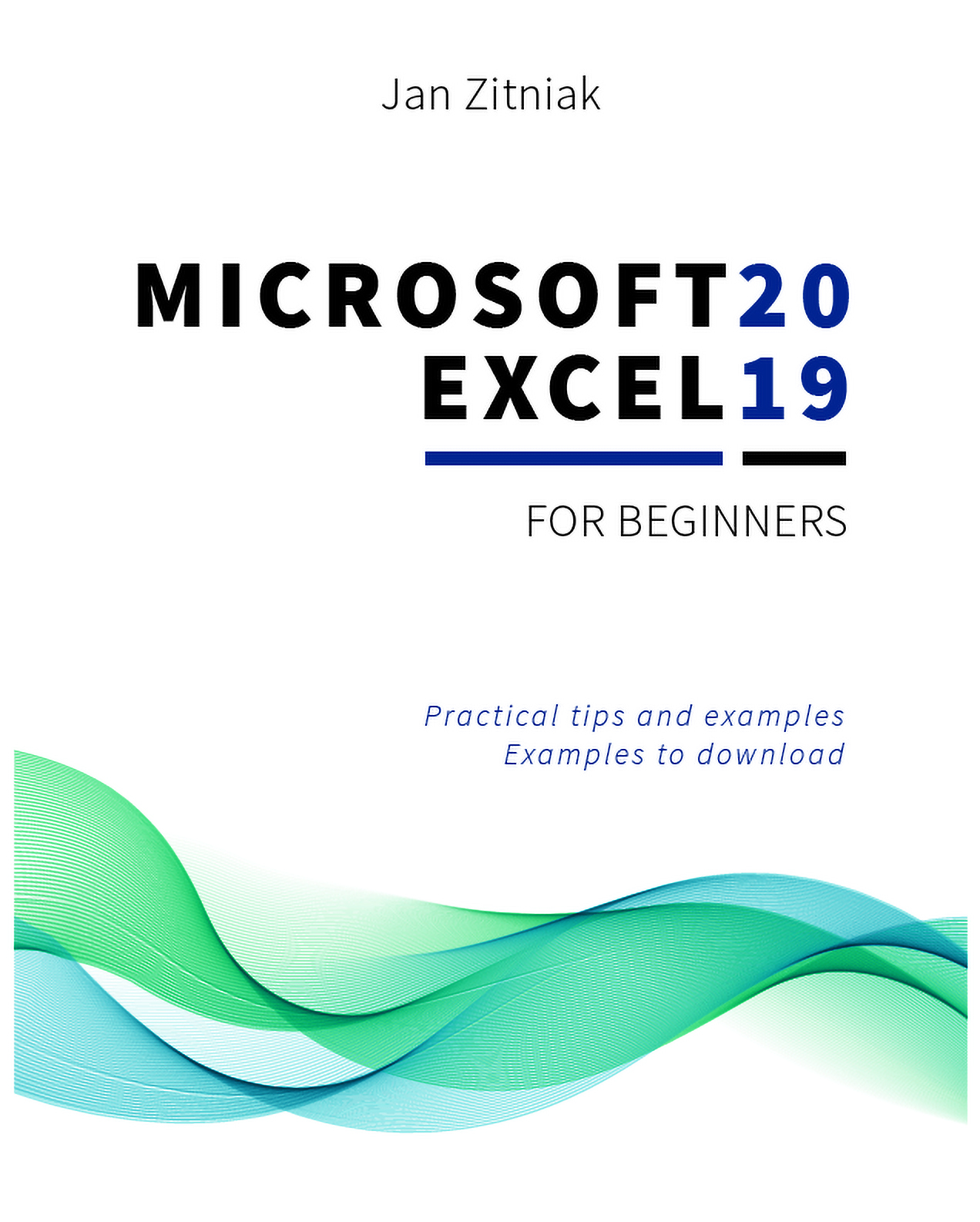 microsoft excel for beginners cover