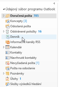 navigacny-panel-microsoft-outlook-2013-dennik