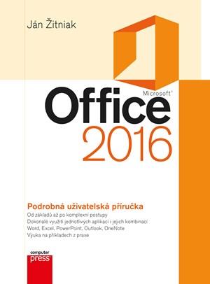 kniha microsoft office 2016 podrobna pouzivatelska prirucka